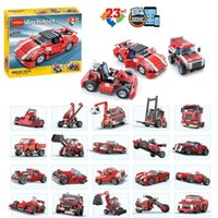architect model - 278Pcs New Decool Architect Vehicles Model Building Kits in Car Styling Forklift Blocks Bricks toys Figures compatible