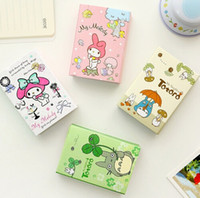 Wholesale Kawaii Totoro amp Melody Folding Memo Pad Sticky Notes Memo Notepad Bookmark Gift Stationery