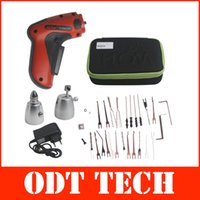 best electric pick gun - 2015 New Cordless Electric Pick Gun Rechargeable Auto Locksmith Tool DHL Fedex with Best Quality A