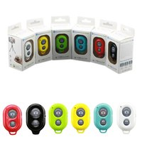 Wholesale Universal Bluetooth Remote Camera Control Self timer Release Shutter for samsung s3 s4 iphone for ipad blackberry etc