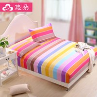 Wholesale You Duo Home Textile Colors Polyester Mattress Cover Fitted Sheet Mattress Protect Cover Flat Sheet BM002