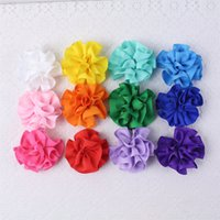baby gifts flower - Accesorios para el pelo headband clip peony flower solid bright gifts inch girl baby hair bow alligator clips y
