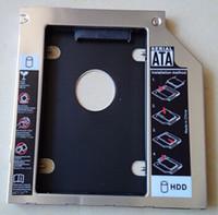 Wholesale Universal notebook optical drive hard drive bays aluminum hard drive bracket MM MM