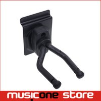 Wholesale Short Guitar Wall Hanger Hook Holder Wall Mount Display Fits all Size Guitars Bass parts MU0301