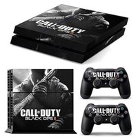 black cod - COD Black Ops Vinly Skin Sticker Protector for Sony PS4 PlayStation and controller skins Stickers