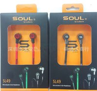 in ear headphones - Soul SL49 By Ludacris IN Ear Earphone Earphones Headset Headphone With MIC Mute button For Iphone S S C Samsung S5 NOTE