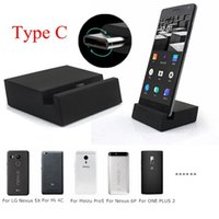 Wholesale Micro USB To Type C Portable Charger Charging Dock Station Cradle Stand For Xiaomi C For Redmi Note For One Plus For Meizu