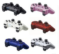 Wholesale 2015hot sale Wireless Bluetooth Game Controller for Playstation ps3 SIXAXIS dualshock Joystick console