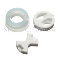 Wholesale 3pcs set Ceramic Disc Rubber Gasket Gaskets Tap Insert Kit Hot Cold Valve for Home Replacement