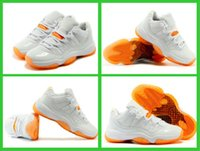 Wholesale Famous Trainers Retro XI Low Citrus Basketball Shoes Top Quality Retro Sporting Shoes