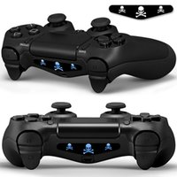 Wholesale Light Bar Decal Stickers for PS4 Playstation Controller Colorized Prints Choose whichever you want