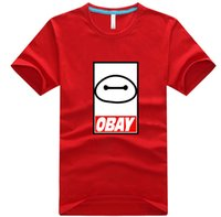 summer clothes for men - 2015 Summer Fashion Men s T shirt Shirts Short Sleeve Mens T Shirts for Cartoon Big Hero Baymax Cotton Shirt Clothing T09