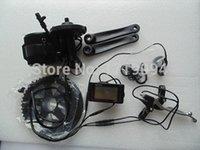 buon prezzo completo di e-bike kit di conversione 36v 250w metà motore con batteria 36V 10Ah portapacchi posteriore per il fai da te e-bike