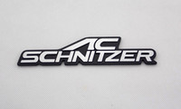 BMW ac schnitzer bmw - 3D Aluminum Car Badge Logo emblema Nameplate Auto Rear Trunk Sticker Emblem Decal Fit For BMW series series AC Schnitzer Supplier