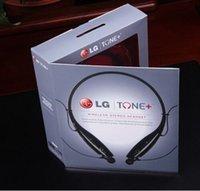 bluetooth headphones - 1 High quality LG HBS Bluetooth headphones wireless headphones iPhone headphones earphones mic Sport Neckband headphones earphones