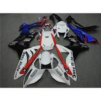 Wholesale Becker Carbon Fairing Fit BMW S1000RR S1000 RR ASY Ride Castrol Glossy White With Red Gifts