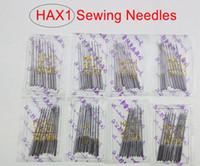venda por atacado sewing machine-100pcs (11 # 12 # 14 # 16 # 18 #) 10 por saco / Household Máquina de costura Agulhas HA * 1 Para Singer Irmão Janome Toyota Juki também se encaixam macine de costura velha