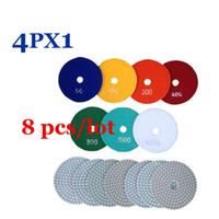 Wholesale Wet Polishing Pads Inch Diamond Polishing Pads For Granite Marble Concrete Countertops Tile Polishing Discs PX1