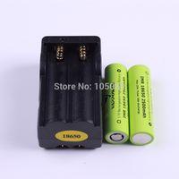 Wholesale 2pcs VAPPOWER IMR1865018650 High Drain mAh Li Ion Battery A Charger