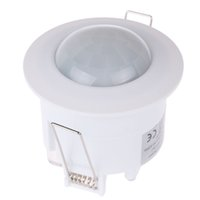 Wholesale 360 Degree Infrared Recessed PIR Ceiling Motion Sensor Detector Light Switch AC V