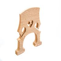 Wholesale Full Size Music Instrument Cello Bridge Maple Material Professional Cello Accessories