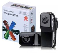 Wholesale 2015 High Quality High Resolution Mini DV DVR Sports Video Record Camera MD80 Camcorder Smallest Voice Recorder