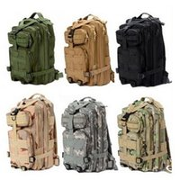 trek - MY5304 Hot Sale Men Women Outdoor Military Army Tactical Canvas Backpack Camping Hiking Trekking Sport Camouflage Backpack
