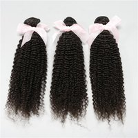Cheap Attractive Price!4 bundles 6A Unprocessed Hair Extensions kinky Curly Brazilian Malaysian Peruvian Indian Virgin Human Hair Weaves DHL