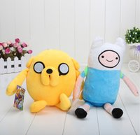 Multicolor adventure kid - 5pcs New arrival Cute Cartoon Adventure Time Finn Plush Doll Toy Approximately inches Birthday Gift
