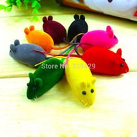 animal sounds cat - Little Mouse Toy Squeak Noise Sound Rat Playing Gift For Cat Kitten Play M0066 P