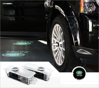 Wholesale 2pcs Laser LED Step Door courtesy Shadow Light for Land Range Rover Discovery III IV