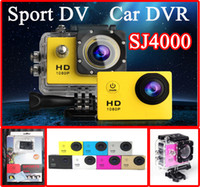 Wholesale SJ4000 Waterproof Sport DV HD Camera Camcorder Mini Gopro Style Action Novatek P fps MP H Inch LCD DVR