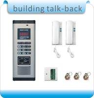 Wholesale DIY RFID building intercom system extension non visual doorbell indoor machine building door switch