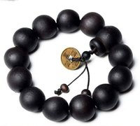 Wholesale New Hot Wood Buddha Buddhist Prayer Beads Tibet Bracelet Mala Bangle Wrist Orna men fei
