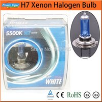 Wholesale 10 x H7 Xenon Halogen Auto HeadLight Bulb Kit K V W Car Headlights Headlamp Lamp Super White Parking Car Light Source