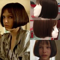 Wholesale New Movie s Girl s Short Straight BOB Cosplay Wig Synthetic Party Wigs Cap Women Lady Sale