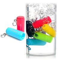 Wholesale 2015 Mini torch mini usb charge type led flashlight camping light glare small outdoor flashlight