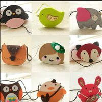Wholesale 10Pcs Children s Day Gift Animal Backpacks Lovely Birthday Present For Kids Boys Girls Shoulder Cross Bags Cute Owls Childs Money Bag