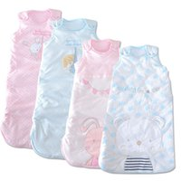 baby gear brands - 2015 Blanket Pajamas Children Footed Pajamas Baby Brand Sleeping Bag Pieces months Infant Winter Gear Thick Warm Envelope Quilt
