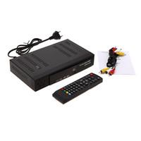 Совместимость DVB-S / DVB-T HD 1080P Set Top Box H.264 / MPEG-2/4 цифровой тюнер DVB-T2 + S2 COMBO Video Broadcasting Satellite TV приемник V1217