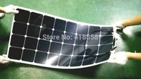 Wholesale flexible solar panel W semi flexible panel w cables on front or back of bracket Degree Maximum