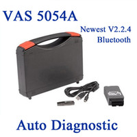 Wholesale Newest VAS A ODIS Bluetooth Support UDS Protocol VAS5054 OKI Full Chip Diagnostic Tool For VW Group DHL