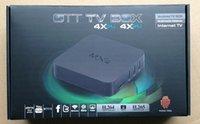 Wholesale Latest Quad Core MXQ Smart TV Box Android Amlogic S805 Kodi Fully Loaded Media Player Update MX TV Box