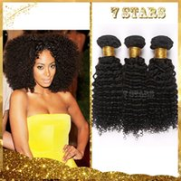 kinky curly hair extensions - 6A Brazilian Hair Bundles Remy Human Hair Extensions Kinky Curly Hair Weaves Unprocessed Virgin Hair Hair Wefts Fast