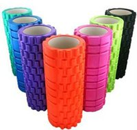Wholesale 2015 New EVA Yoga Foam Roller Massgae Hollow Yoga Column Fitness Exercise Training Trigger Point cm