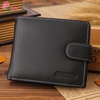 acrylic portfolios - New Hot Men s Wallet Men Commercial Purse PU Leather Wallet Men Male Clutch Bag Portfolio Male Purses Billeteras n