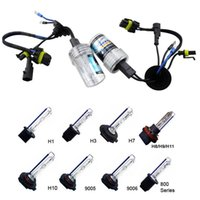 Wholesale 2pcs V HID Xenon Replacement W bulbs H1 H3 H7 H8 H9 H10 H11 K K K K Headlight Fog Light