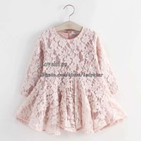 clothes for kids - Fashion Shirt Dress Spring Dresses For Kids Korean Princess Dress Girl Dress Lace Dresses Children Clothes Kids Clothing Girls Dresses C1146