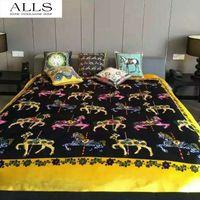 acrylic mink blankets - 2 kg double faced mink blanket retro throw fleece koyo blankets horse decke bedding luxury brand blanket thick winter blankets