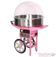 Wholesale With Cart candy floss machine_electric cotton candy machine